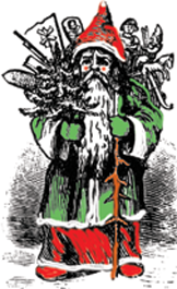 Could Father Christmas actually be the Green Man?